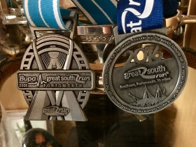 great-south-run-medals